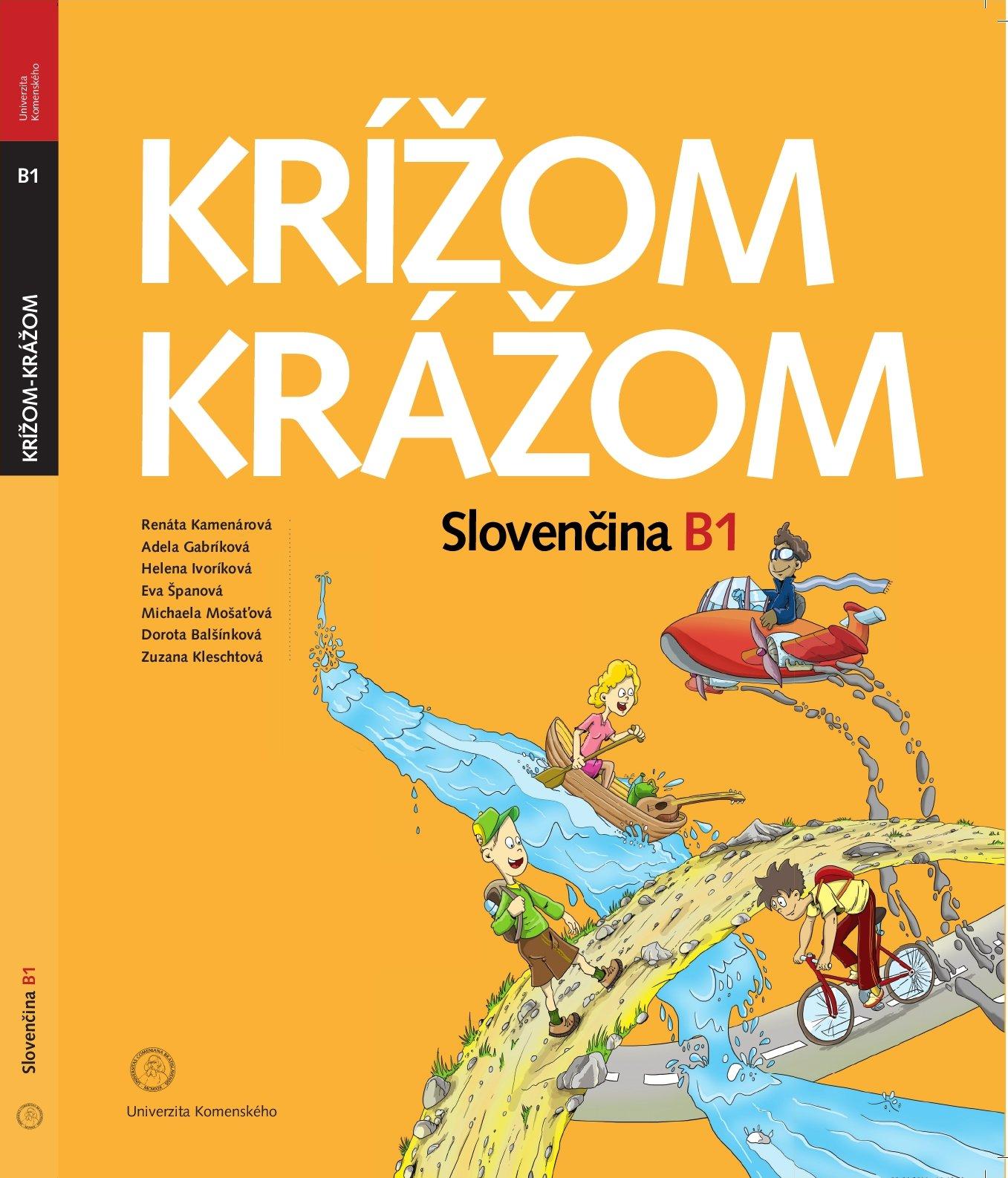 Krížom krážom slovenčina B1 s CD