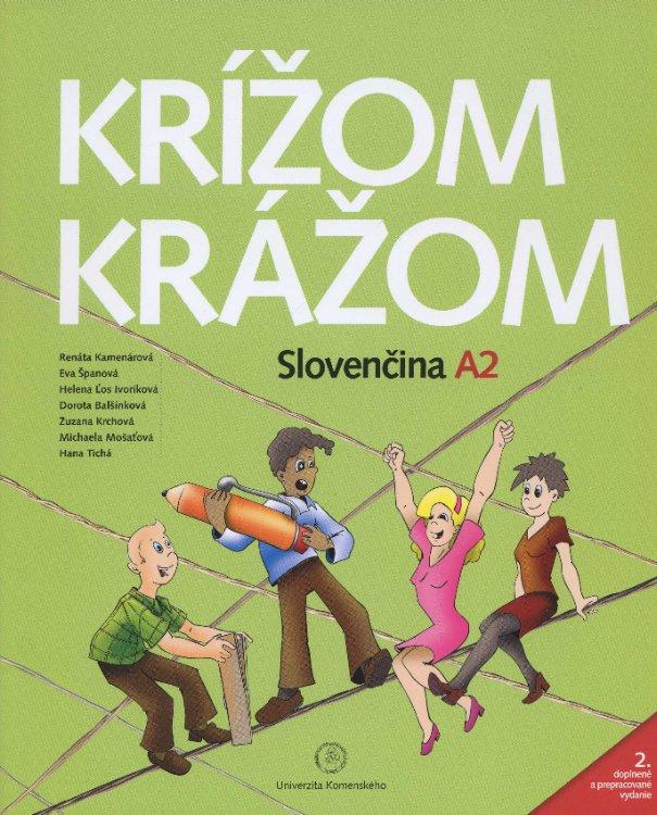 Krížom krážom Slovenčina A2 (2. doplnené a prepracované vydanie) - dvoj - CD