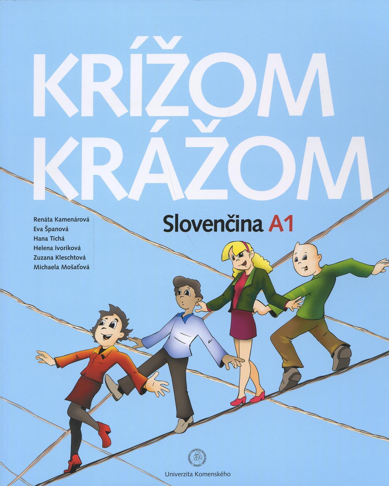 Krížom krážom Slovenčina A1 - audio on-line