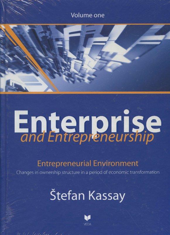 Enterprise and entrepreneurship 1 - Entrepreneurial environment