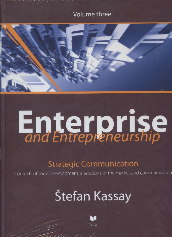 Enterprise and entrepreneurship 3 - Strategic communication