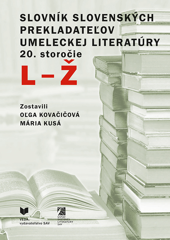 Slovník slovenských prekladateľov umeleckej literatúry 20. storočie (L - Ž)