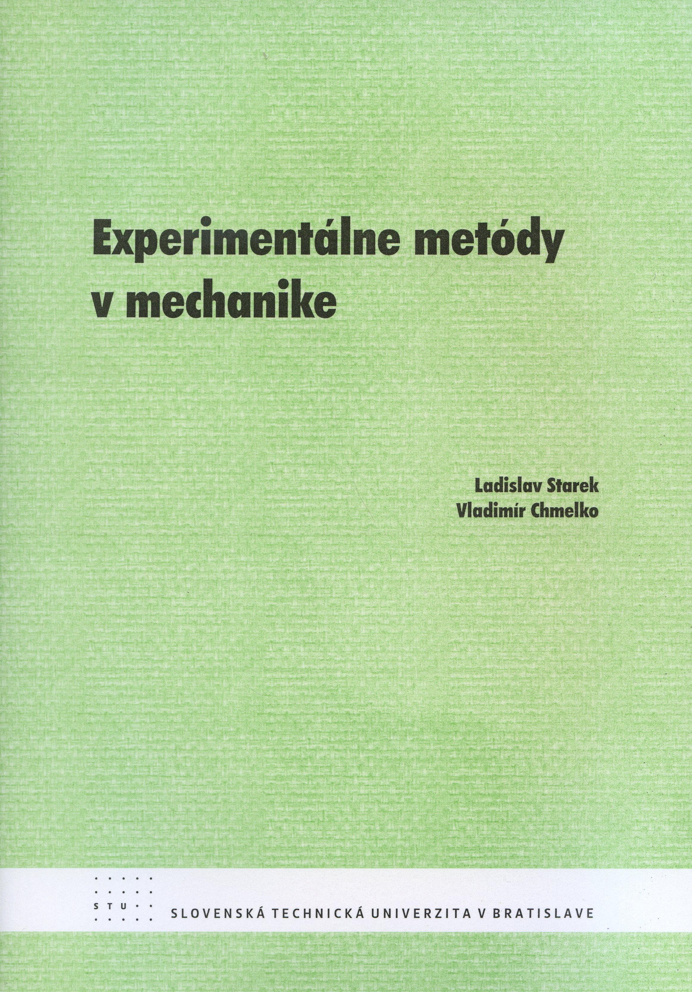 Experimentálne metódy v mechanike