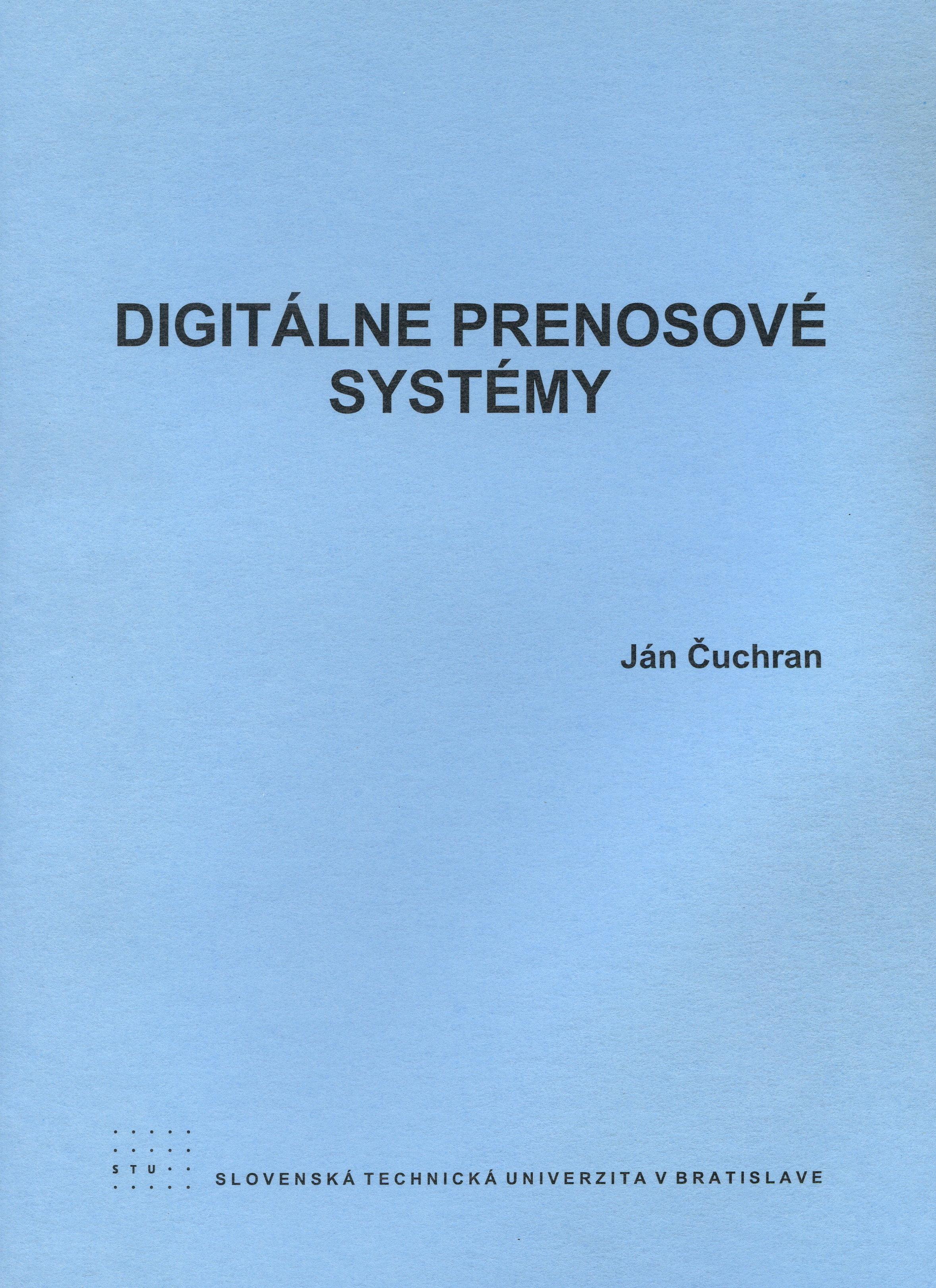 Digitálne prenosové systémy