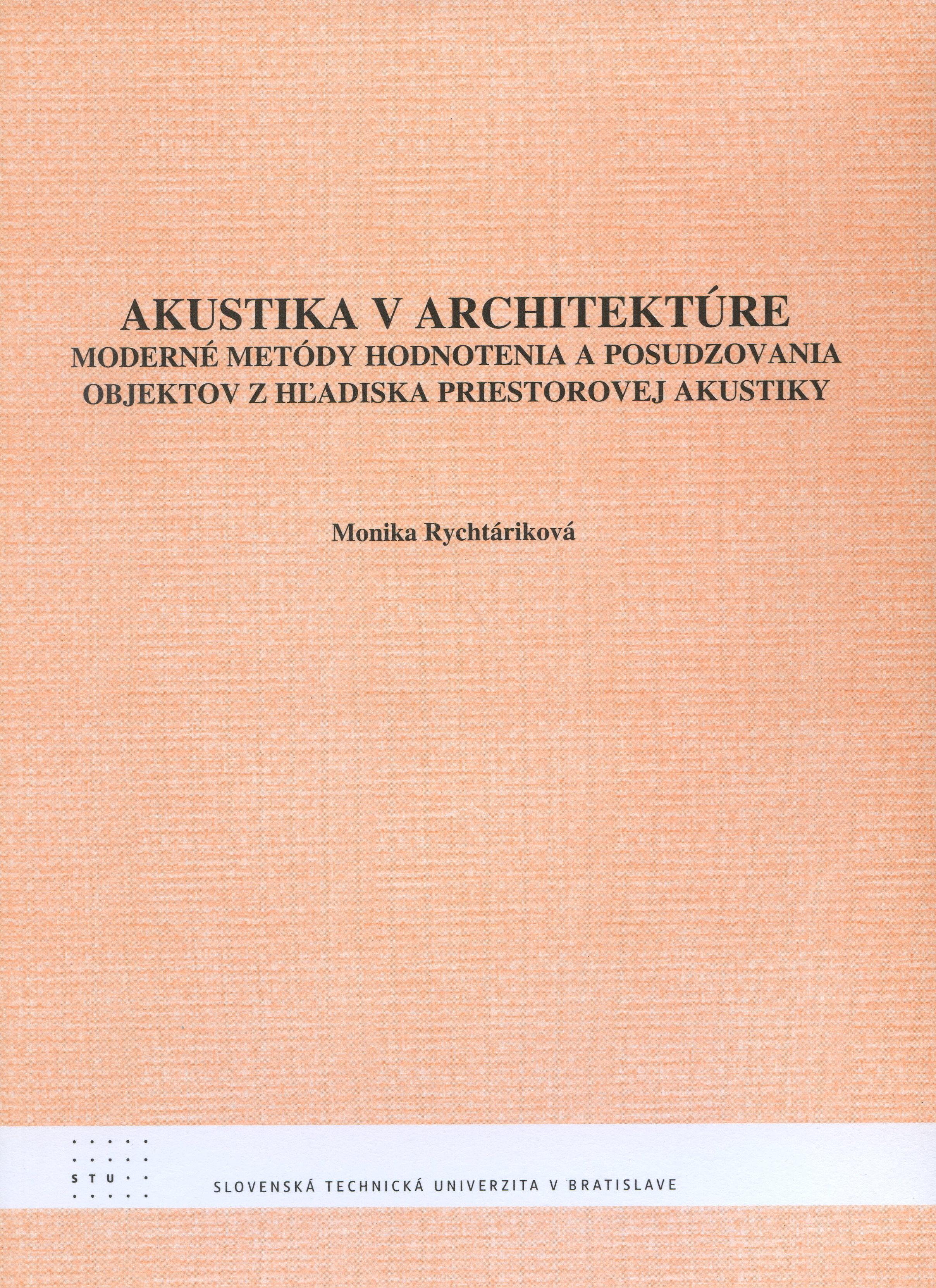 Akustika v architektúre