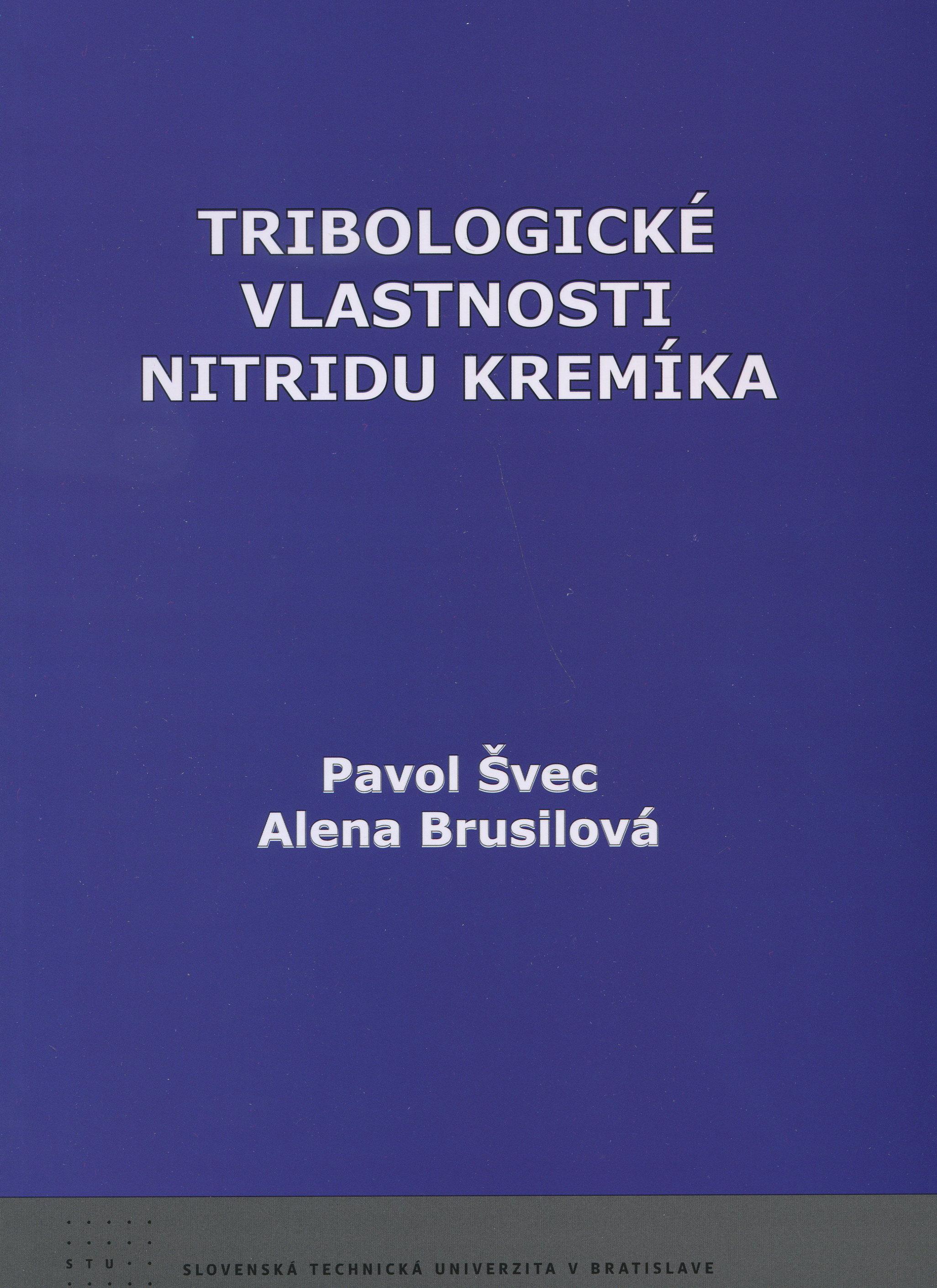 Tribologické vlastnosti nitridu kremíka