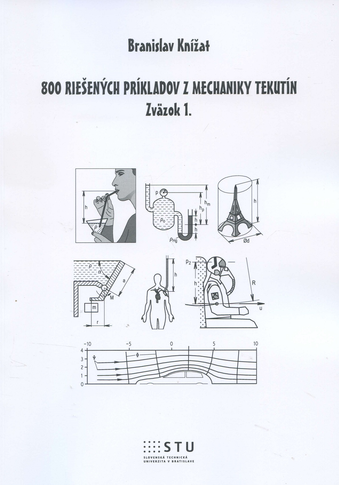 800 riešených príkladov z mechaniky tekutín - Zväzok 1.