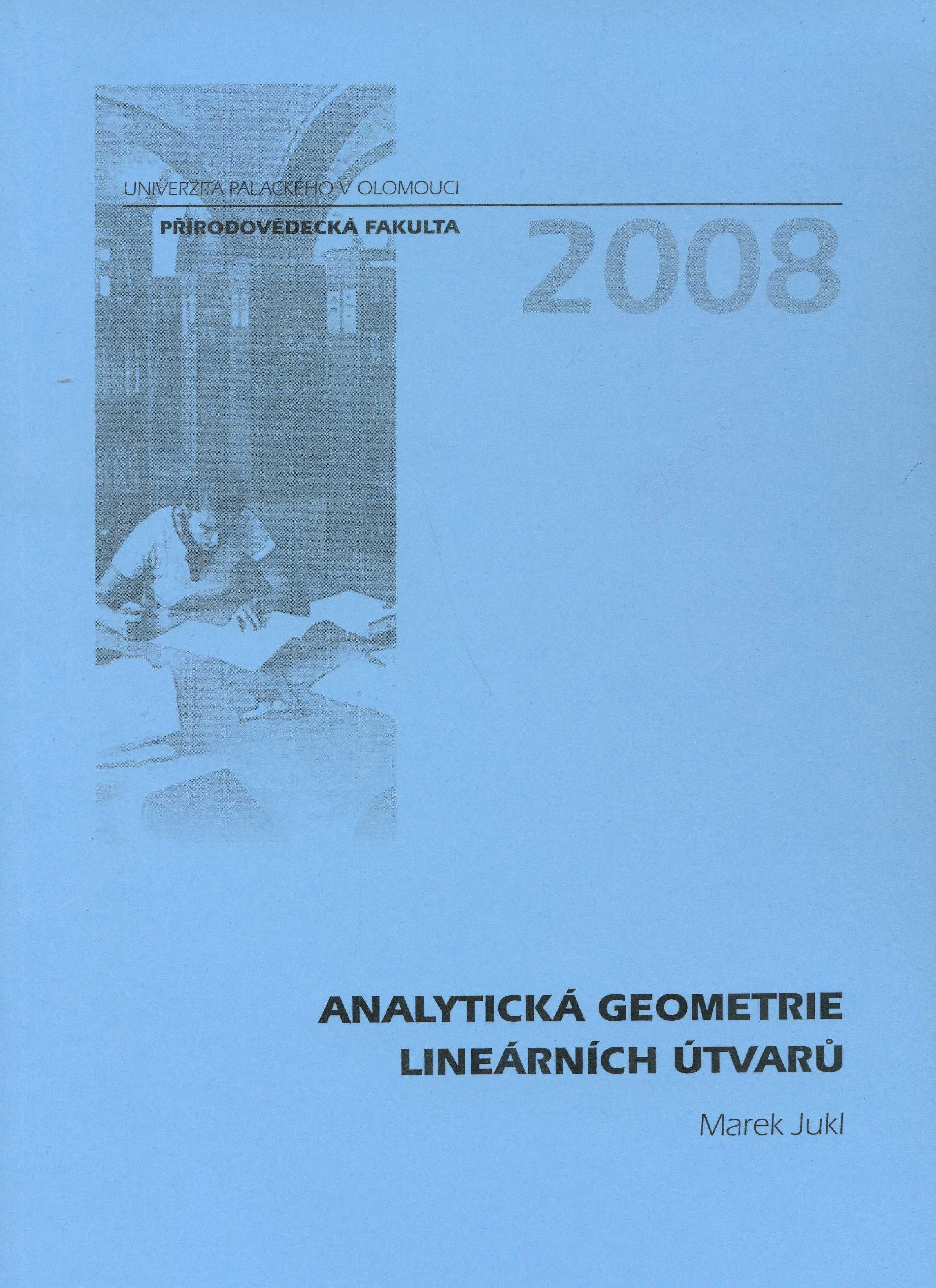 Analytická geometrie lineárních útvarů