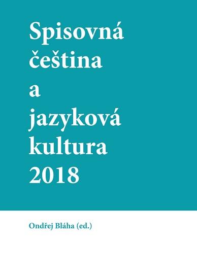 Spisovná čeština a jazyková kultura 2018