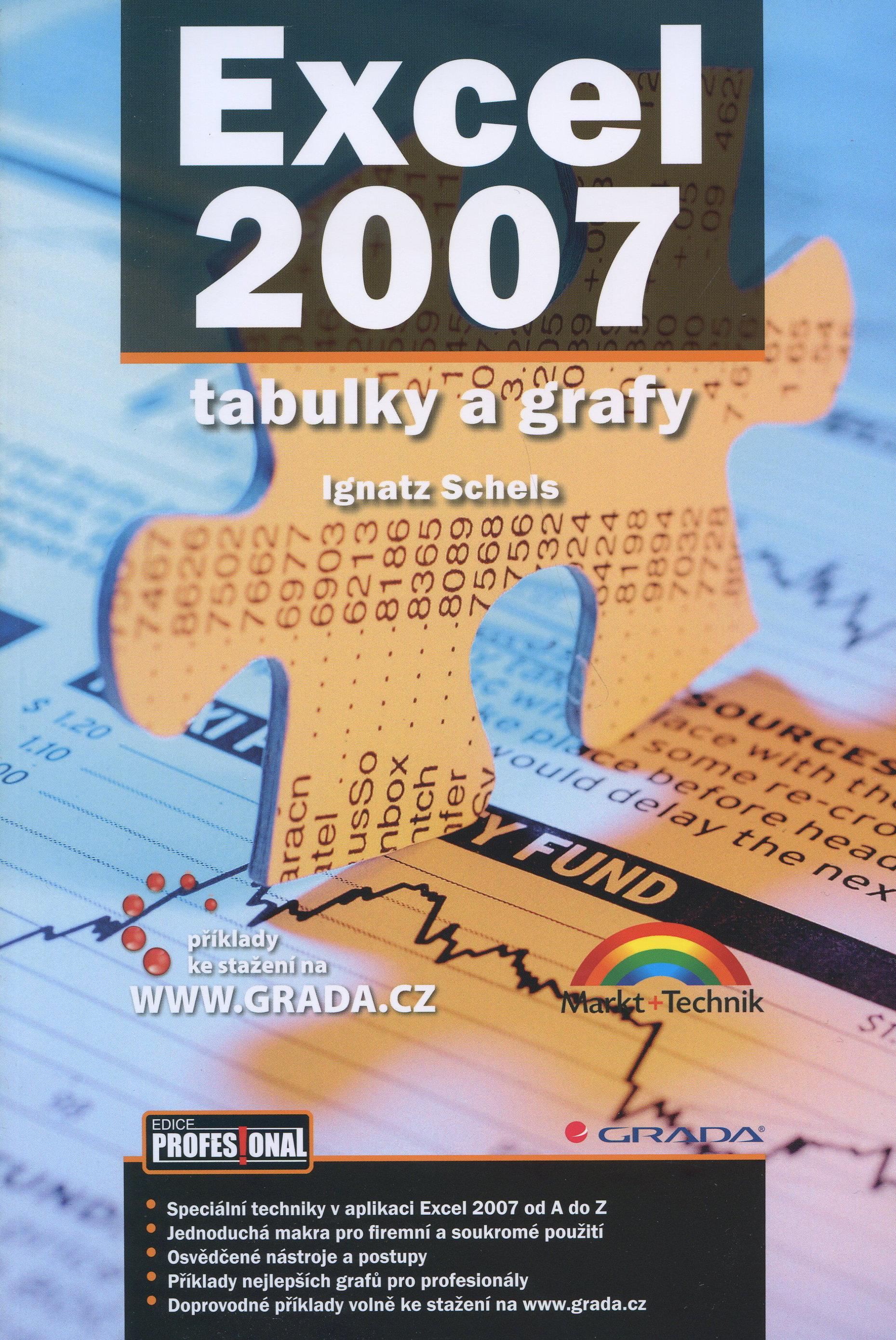 Excel 2007 tabulky a grafy