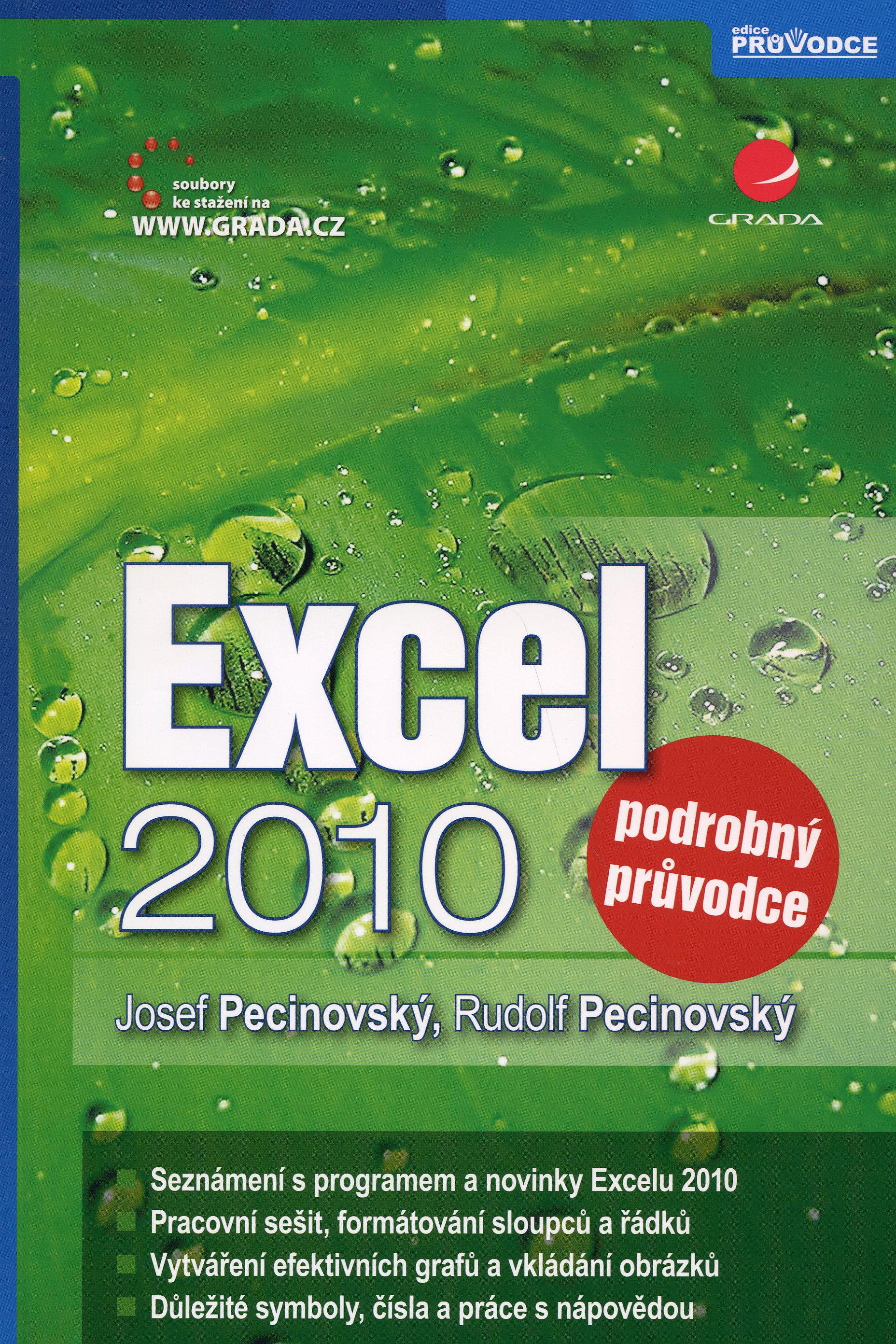 Excel 2010 - Podrobný průvodce