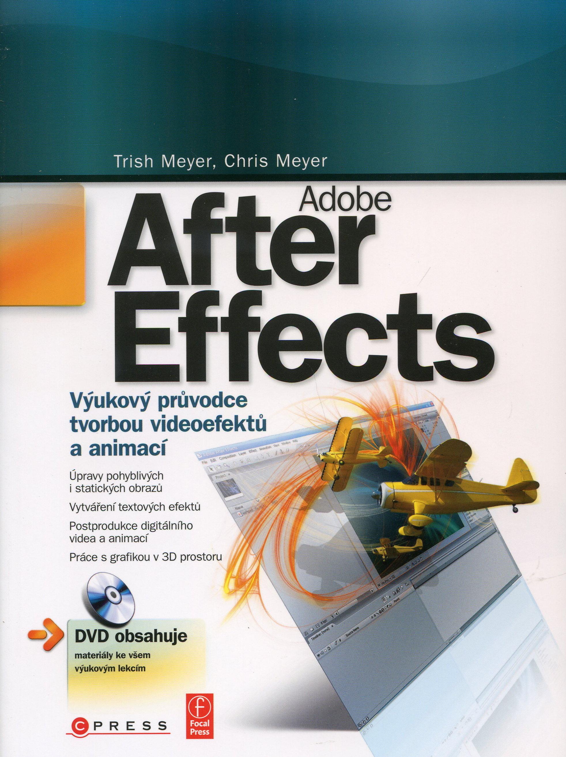 Adobe After Effects - Výukový průvodce tvorbou videoefektů a animací