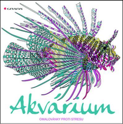 Akvárium - omalovánky proti stresu