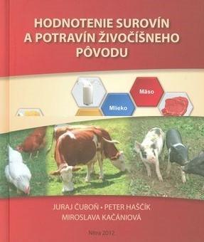 Hodnotenie surovín a potravín živočíšneho pôvodu