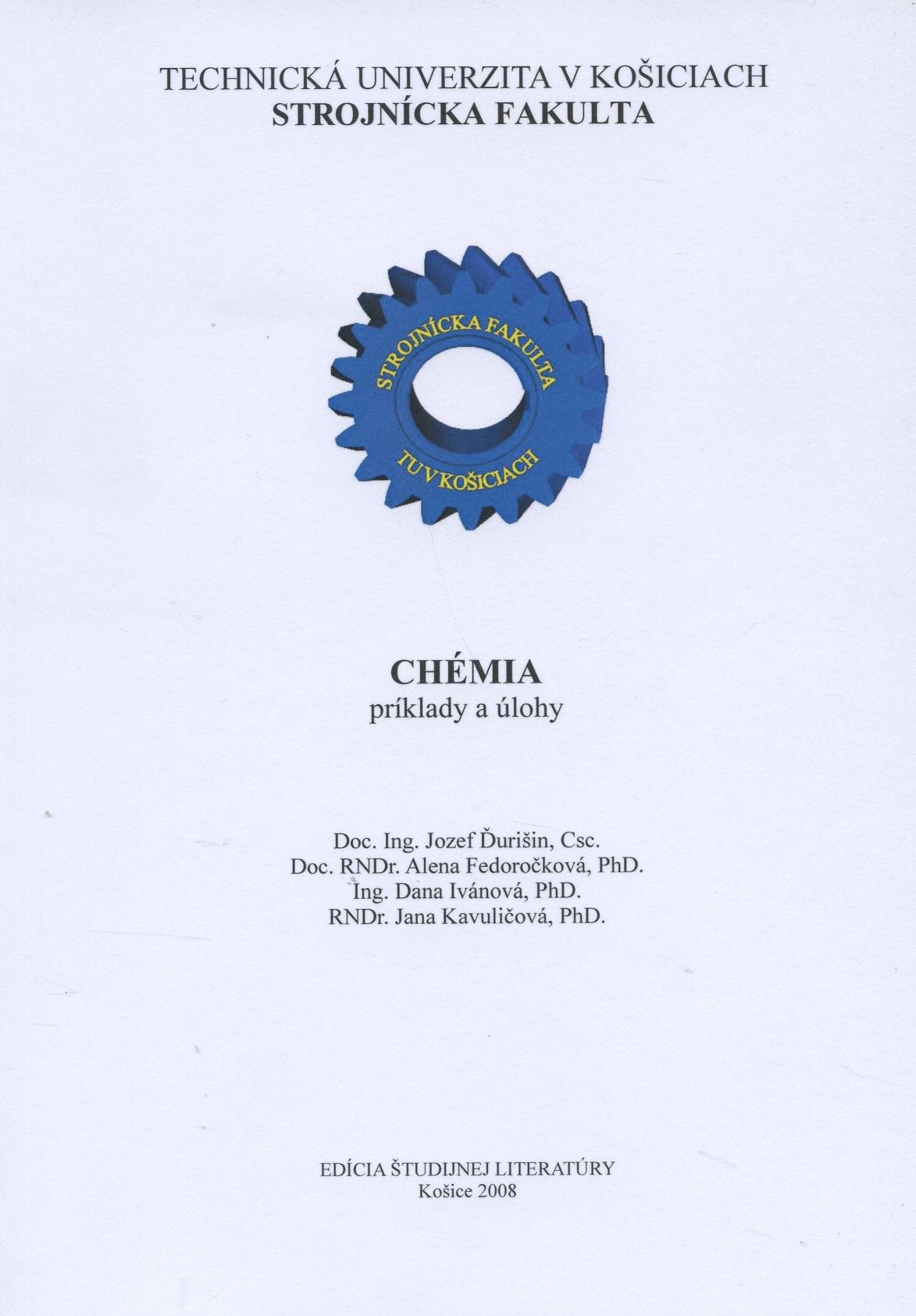 Chémia - príklady  úlohy