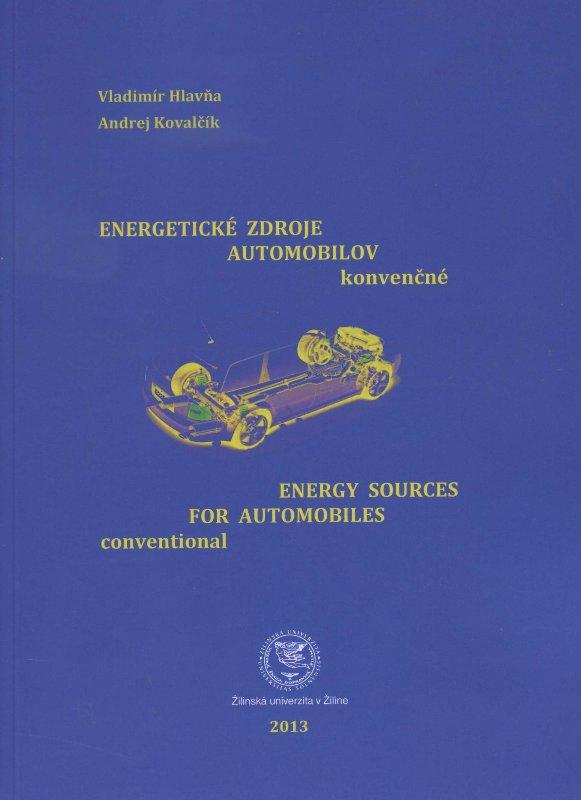 Energetické zdroje automobilov konvenčné