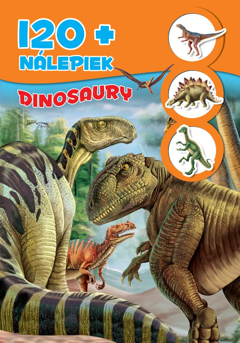 120+ nálepiek - Dinosaury - 120+ nálepiek
