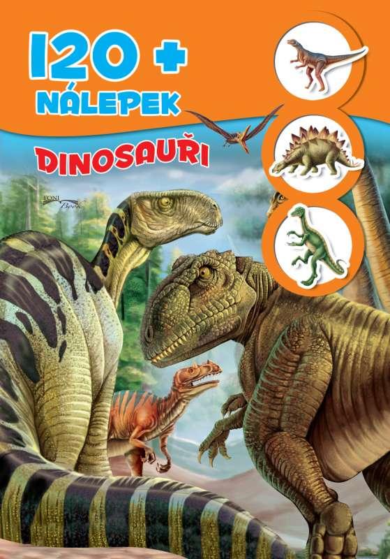 120+ nálepek - Dinosauři - 120+ nálepek