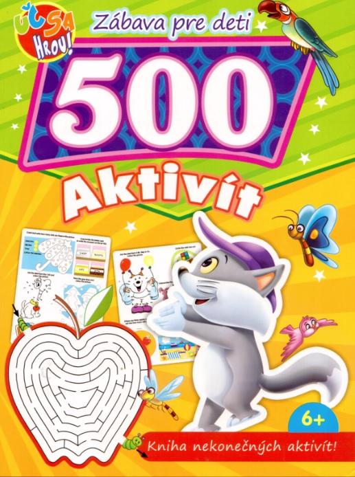 500 aktivít - mačka - Kniha nekonečných aktivít!