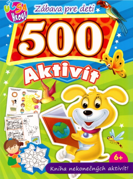 500 aktivít - pes - Kniha nekonečných aktivít!