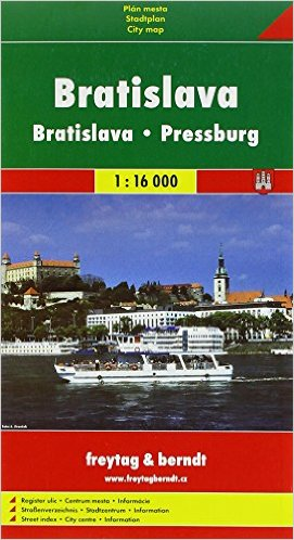 Bratislava 1:16 000 - Plán mesta