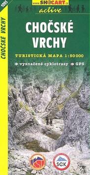Chočské vrchy 1:50 000 - Turistická mapa SHOCart Slovensko 1095