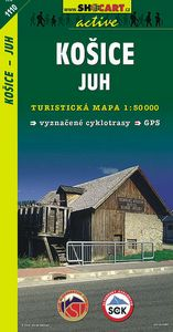 Košice - juh 1:50 000 - Turistická mapa SHOCart Slovensko 1110