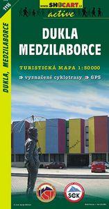 Dukla Medzilaborce 1:50 000 - Turistická mapa SHOCart Slovensko 1116