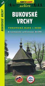 Bukovské vrchy 1:50 000 - Turistická mapa SHOCart Slovensko 1119