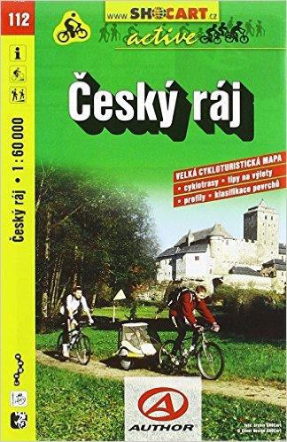 Český ráj 1:60 000 - Cykloturistická mapa SHOCart 112