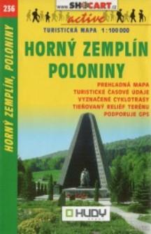 Horný Zemplín, Poloniny 1:100 000 - Turistická mapa SHOCart 236