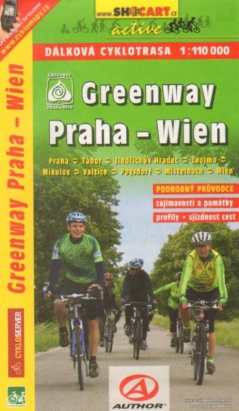 Greenway Praha - Wien 1:110 000 - Cykloprůvodce