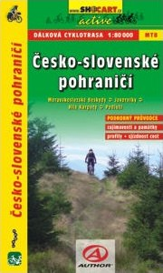 Česko-Slovenské pohraničí - Cykloprůvodce