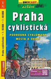Praha cyklistická 1:18 000 / 1 : 40 000
