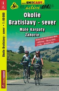 Okolí Bratislavy - sever, Malé Karpaty, Záhorie 1:60 000