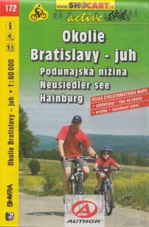 Okolí Bratislavy - jih 1:60 000