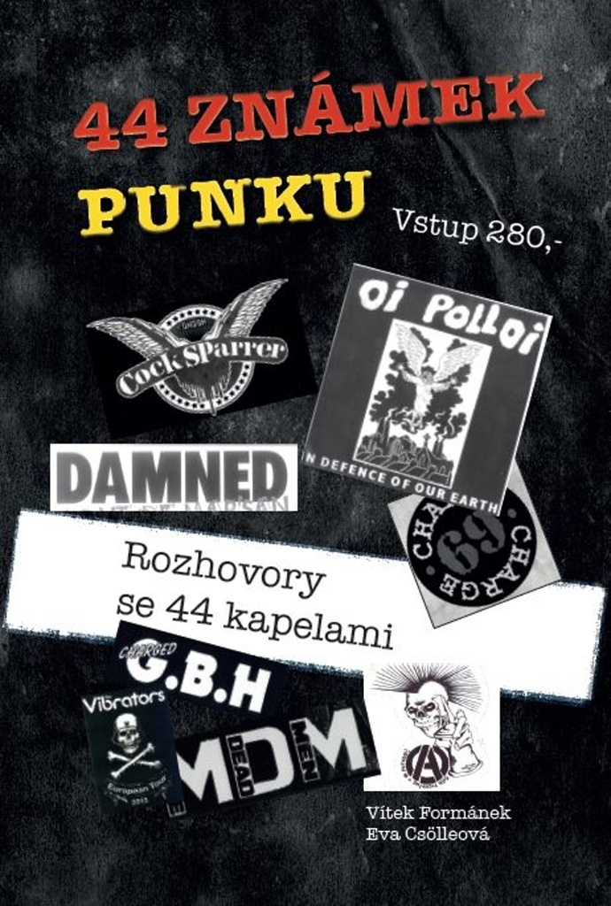 44 známek punku - Rozhovory se 44 kapelami