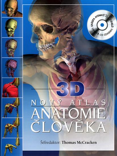Nový atlas Anatomie člověka 3D+CD