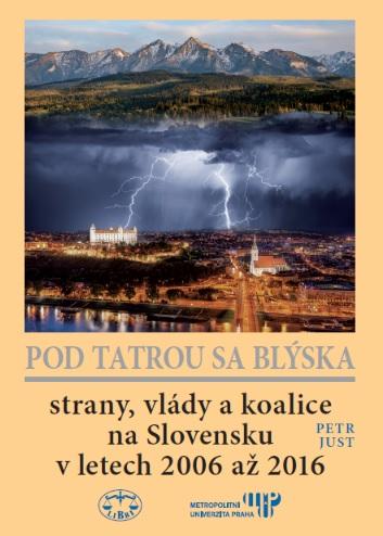 Pod Tatrou se blýská - Strany, vlády a koalice na Slovensku v letech 2006 až 2016
