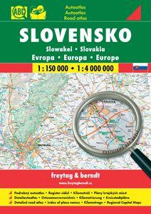 Slovensko 1:150 000, 1:4 000 000