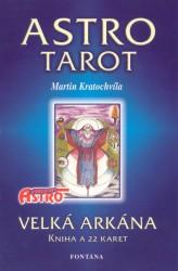 Astro tarot - velká arkána