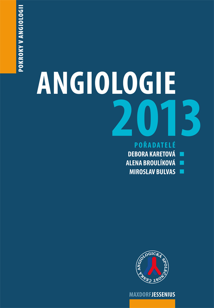 Angiologie 2013 - Pokroky v angiologii
