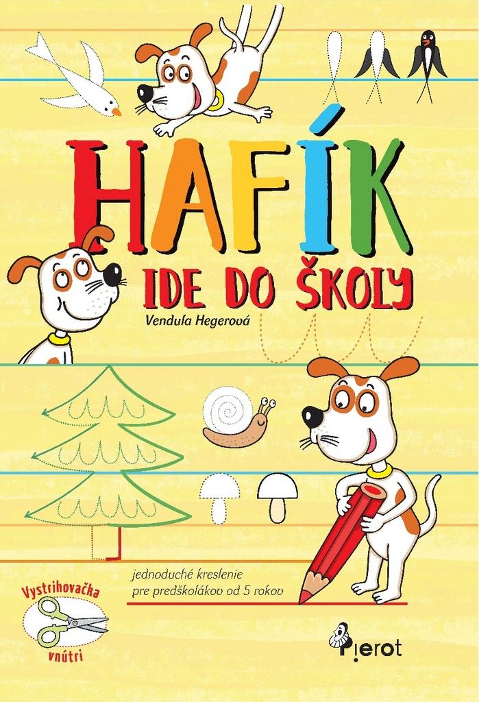 Hafík ide do školy - Jednoduché kreslenie pre predškolákov od 5 rokov