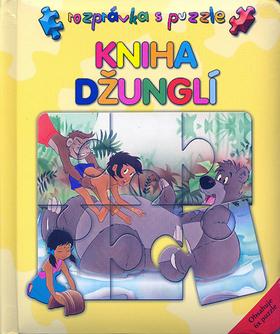 Kniha Džunglí - Rozpráva s puzzle