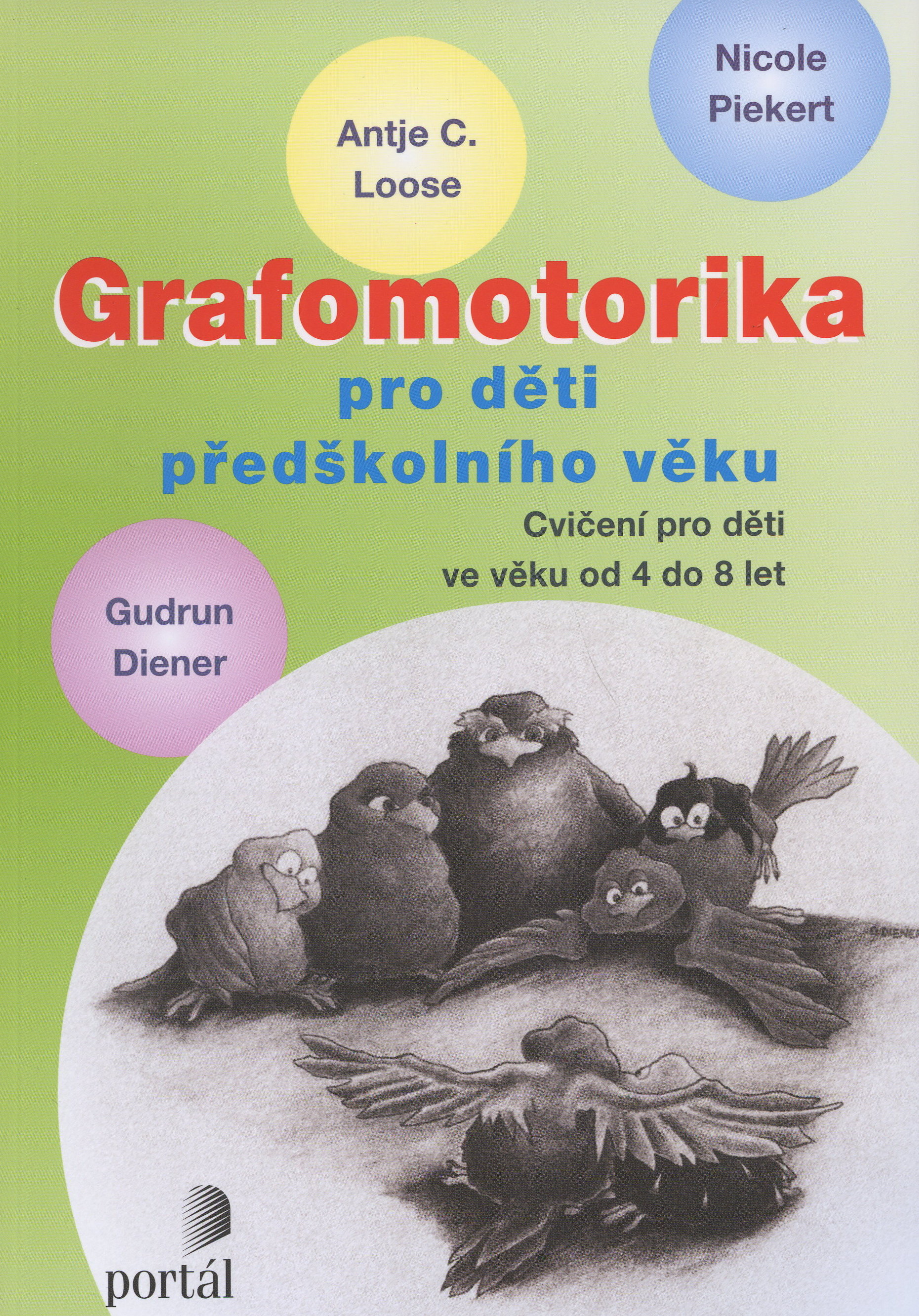 Grafomotorika pro děti předškolního věku - cvičení pro děti ve věku od 4 do 8 let