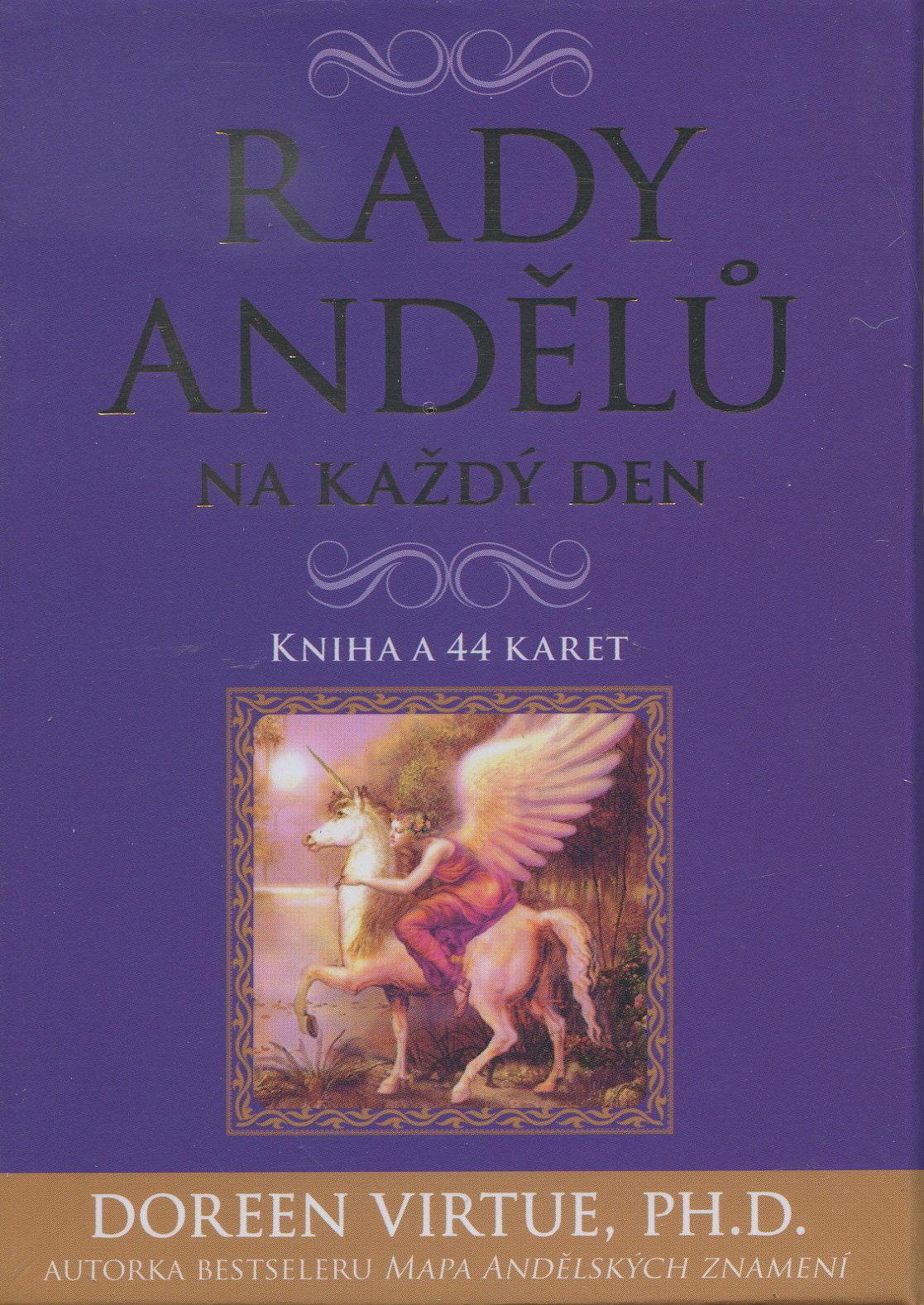 Rady andělů na každý den - karty + příručka - Kniha a 44 karet