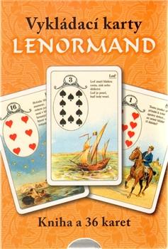 Vykládací karty Lenormand - Kniha a 36 karet