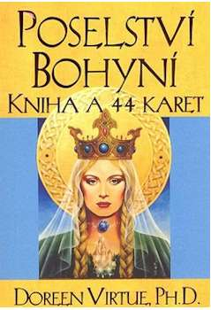 Poselství Bohyní - Kniha a 44 karet