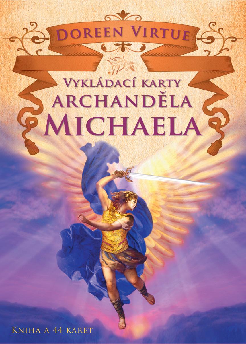 Vykládací karty archanděla Michaela - Kniha a 44 karet