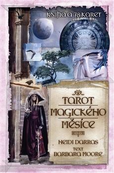 Tarot magického měsíce - Kniha a 78 karet
